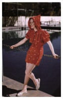 Sexy DEANNA DURBIN Actress PIN UP Postcard - Publisher RWP 2003 (6) - Artisti