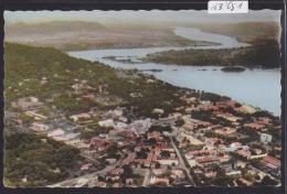 Capitale De La République Centrafricaine : Bangui – Vue Aérienne Vers 1962 (13´651) - Centrafricaine (République)
