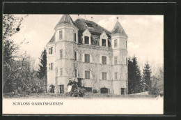 AK Garatshausen, Blick Zum Schloss - Unclassified