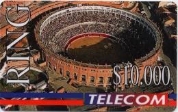Lote TT34, Colombia, Tarjetas Telefonicas, Phone Cards, Telecom, Plaza De Toros La Santa Maria, Bullring, Mint - Colombia