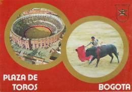 Lote PEP241, Colombia, Postal, Postcard, Bogota, Plaza De Toros De Santamaria, Bullfight Ring, Not Perfect, Spots Back - Colombia