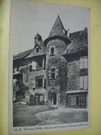 15 155 - CPA - VIC SUR CERE -MAISON DES PRINCES DE MONACO (XVIe S.) - (VOIR SCANS RECTO VERSO) - France