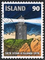 Iceland SG568 1978 Centenary Of Lighthouses In Iceland 90k Good/fine Used [10/26082/6D] - Used Stamps