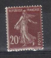 FRANCE    Semeuse  N° 139 *  Type 3    (1907) - France