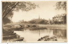 Bedford, Town Bridge & Swan Hotel - Bedford