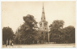 Bedford, St. Paul's Church - Bedford