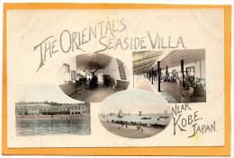 The Oriental Seaside Villa Near Kobe 1905 Postcard - Japan