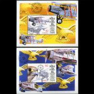 LIBERIA 1998 - Scott# 1375-6 S/S RAF-Planes MNH - Liberia
