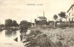 CPA - 01 - PARCIEUX - LA PLAGE - Non Classés