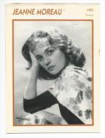 Fiche Cinéma JEANNE MOREAU 1955 - Photos