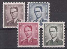 Nr 1070/1073 **, Cote = 226 € (X00213) - 1953-1972 Lunettes