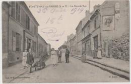 CPA FONTENAY EN PARISIS La Grande Rue - France