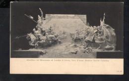 N1414 SCULTURA SCULPTURE - ALTORILIEVO DE MONUMENTO AD AMEDEO DI SAVOIA, DUCA D'AOSTA, DI DAVIDE CALANDRA - ED. CLAUSEN - Sculture