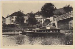 (R)DOUBS , LAC OU VILLERS L'embarcadère De L'hotel De France - France