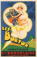 Publicité Pour Les Insecticides Bortox, Cie Bordelaise De Produits Chimiques, Belle Illustration - Advertising