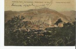 CLANS (ALP MARIT) VUE PANORAMIQUE STATION ESTIVALE ALT 850 M 1908 - Frankreich