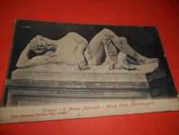 B646 Firenze Museo Adone Ferito Michelangelo Cm8,5x14 Presenza Macchie Umido Come Da Foto - Firenze