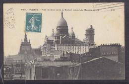 CPA. Postcard. 015. Paris. Panorama Vers Le Sacré-Coeur De Montmartre. - Sacré Coeur