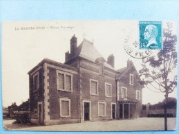 18 ,la Guerche Sur L'aubois ,la Maison Descamps En 1925 - La Guerche Sur L'Aubois