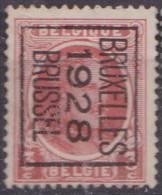 N° 166B X  MU  ZOND. GOM  BRUXELLES 1928 - Typo Precancels 1922-31 (Houyoux)