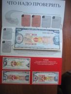MasterCard Travellers Cheques Specimen 50 US Dollars In Booklet - Specimen