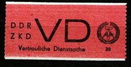 A3295) DDR ZKD Mi.D1 ** Unused MNH - DDR
