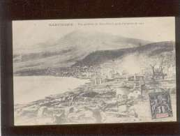 Martinique Vue Générale De Saint Pierre Après L'éruption De 1902 édit. Leboullanger - Autres