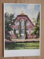 AK - Westfälische Wasserburgen Nach Aquarellen Von C. Determeyer: Haus Rüschhaus - Nienberge Bei Münster - Münster
