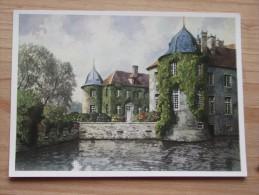 AK - Westfälische Wasserburgen Nach Aquarellen Von C. Determeyer: Schloss Ittlingen - Herbern Ascheberg Coesfeld - Ascheberg