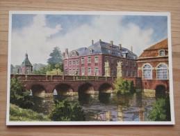 AK - Westfälische Wasserburgen Nach Aquarellen Von C. Determeyer: Schloss Nordkirchen - Coesfeld - Münster - Coesfeld
