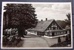 """Alte Karte """"Lindenschänke , HAIN, Riesengebirge, Hermsdorf"""" 1933 - Schlesien"""