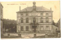 """Carte Postale Ancienne """"Couvignon""""(10) La Mairie - Autres Communes"""