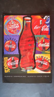 CARTEL CHAPA METALICA DECORATIVA PUBLICIDAD COCA COLA COKE BOTELLAS DE COCA-COLA AÑOS 90 - TENGO MAS CHAPAS - Enamelled & Metal Signs