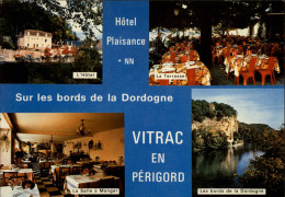 24 - VITRAC - Carte Pub - Hotel - Multi Vues - France