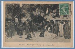 ASIE - BIRMANIE --  Petit Lépreux De RANGOON Jouant La Pastorale - Myanmar (Burma)