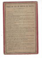 ( Cartes à Jouer ), Règle Du Jeu De Boston De Nantes - Paiements ... ( Carton Ancien, Coyen éd. Paris, Leroy Imp. Paris - Maps