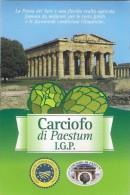 # CARCIOFO DI PAESTUM Tag Balise Etiqueta Anhänger Cartellino Vegetables Gemüse Legumes Verduras Artichoke - Fruits & Vegetables
