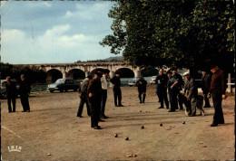 47 - AGEN - Partie De Pétanque - Jeu De Boules - Agen
