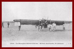 Reproduction  , Théme Aviation  ,  Voir Scan Recto Et Verso - Flugzeuge