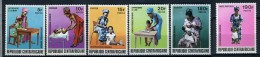 1972 -  Repubblica Centroafricana - Republique Centrafricaine - Catg. Mi 298/303 - NH - (X06092015...) - Repubblica Centroafricana