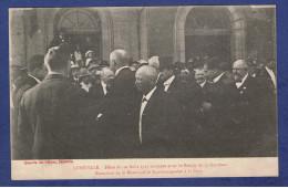 HHH - CPA MEURTHE ET MOSELLE (54) -  LUNEVILLE - FETES DU 10 AOUT 1919- RETOUR DE LA GARNISON - RECEPTION A LA GARE - - Luneville