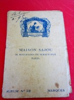 Maison SAJOU Livret Dessins De Broderies . Album No. 52 . VOIR SCANS . Ouvrages De Dames - Point De Croix