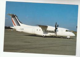 1998 AIR FRANCE  DORNIER DO 328 110  AIRCRAFT At Berlin  Aviation Airplane Postcard Airline Flight - 1946-....: Modern Era