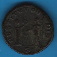 ROMAINE ? Aurelianus Restitutor Bis ??  A IDENTIFIER - 4. Other Roman Coins