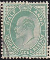 INDIA - Scott #61 Edward VII (*) / Used Stamp - India (...-1947)