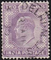 INDIA - Scott #63 Edward VII (*) / Used Stamp - India (...-1947)