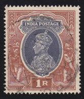 INDIA - Scott #162 George VI (*) / Used Stamp - 1936-47 King George VI