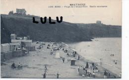 DEPT 22 : Binic , Plage De L Avant Port Marée Montante - Binic