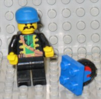279/103  LEGO PIASTRA PIATTA PLAQUE PLATE 2X2 RUOTINO CARRELLO ROUE PETITE CHARIOT BLU BLUEU ORIGINALE - Lego System