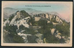 TURQUIE - Ruines Des Forteresses Près BOZANTIE - Edit. G. MIZRAHI à ADANA - Turchia